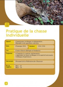 chasse individuelle