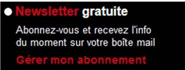 Newsletter chasseurs de l'Est.