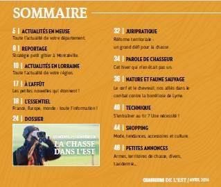 CEST 142 sommaire